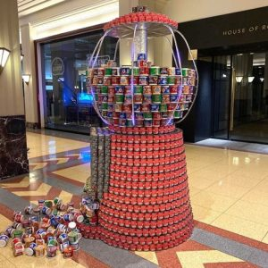 Canstruction Gumball Machine