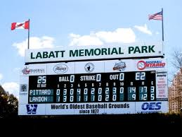 Labatt Park Sign